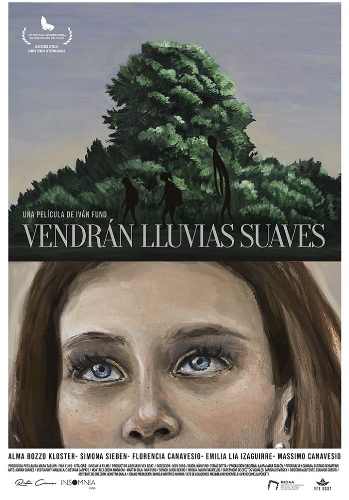 Festival Internacional de cine entre dos aguas poster afiche vendran lluvias suaves alma
