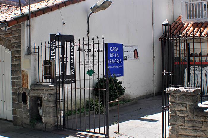 """Fuerte rechazo al posible desalojo de la""""Casa de la Memoria"""""""