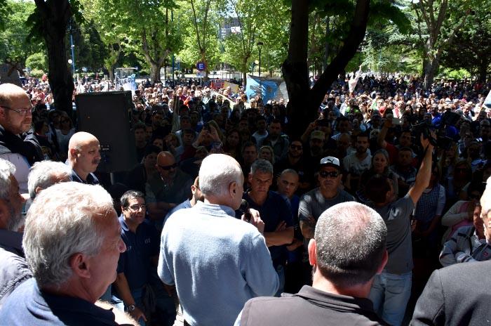 Municipales: cuarto intermedio y continuidad de la protesta