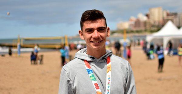 Mauro Zelayeta, de volante de Aldosivi a medallista olímpico