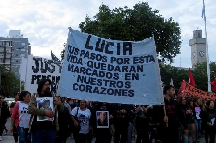 Luto, bronca y marcha por Lucía en el día siguiente de la sentencia