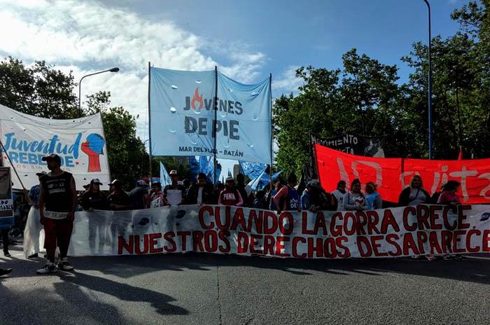 """Marcha de la Gorra: """"La violencia policial se siente cada vez más"""""""