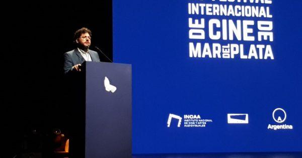El cine abucheó al secretario de Cultura de la Nación en el Festival