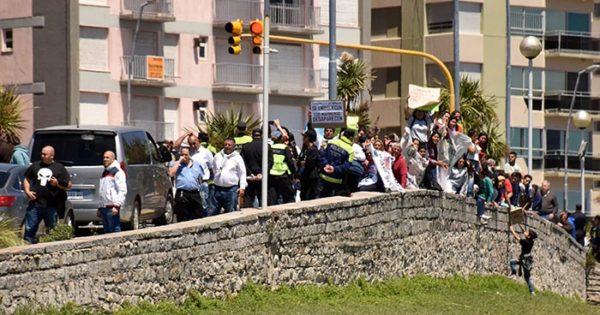 Alumnos de la Secundaria N°58 exigieron respuestas a Vidal