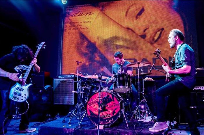 """El power trío """"Radh"""" cierra el año con un vibrante show"""