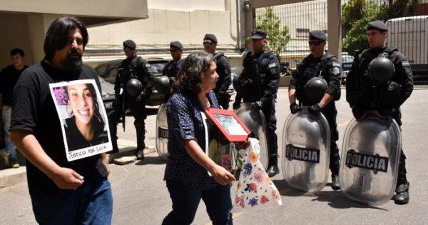 Lucía Pérez: a la espera de la sentencia, emotiva concentración