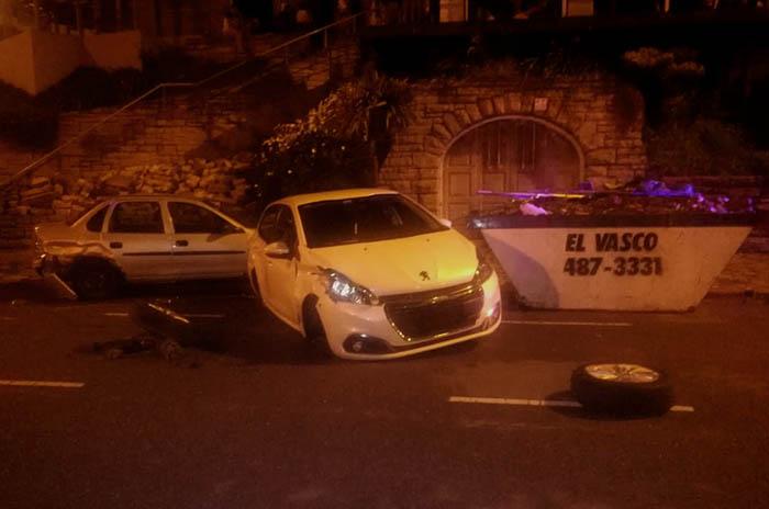 Dos violentos choques en la Costa durante la madrugada