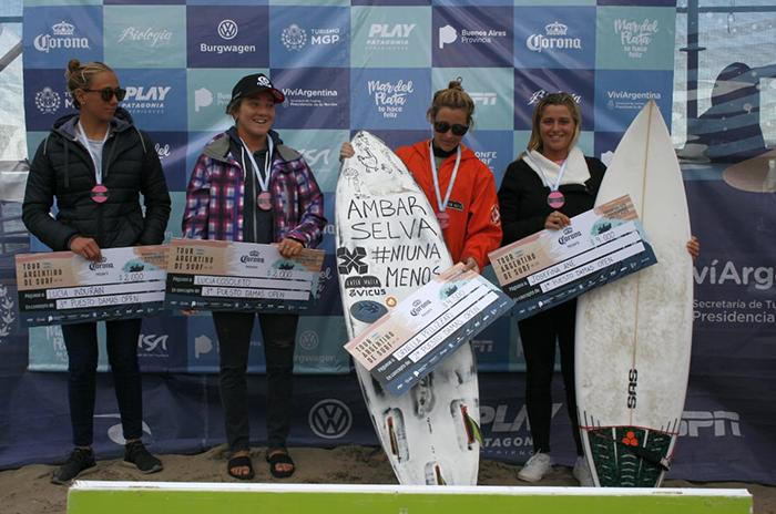 ane campeona orne pellizzari tour argentino de surf primera fecha biologia mariano antunez