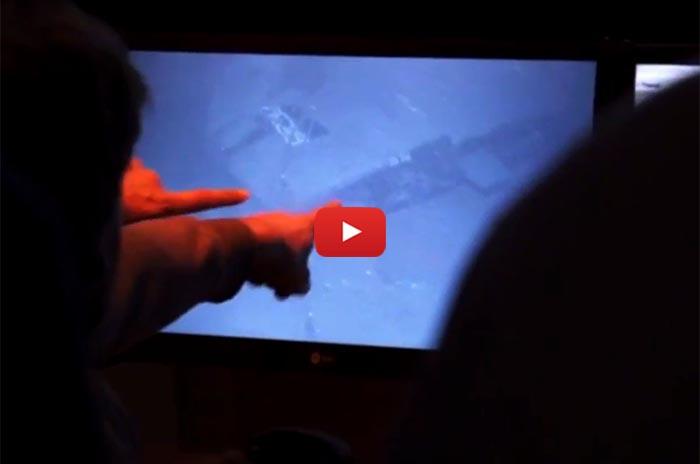 ARA San Juan: el momento del hallazgo del submarino en el mar