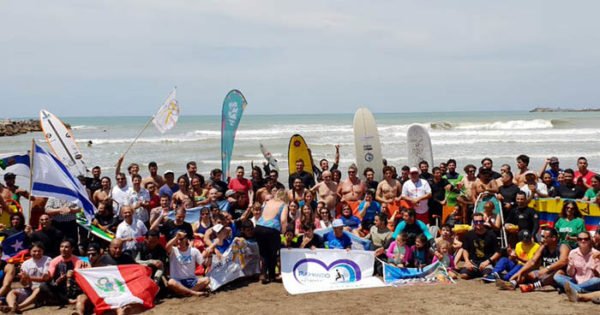 El primer Sudamericano de surf adaptado cerró con protagonismo nacional