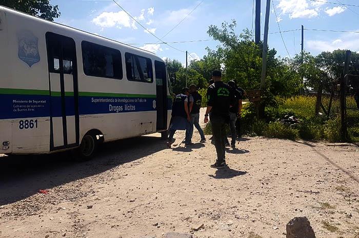 Dos detenidos por vender droga en el barrio Malvinas Argentinas