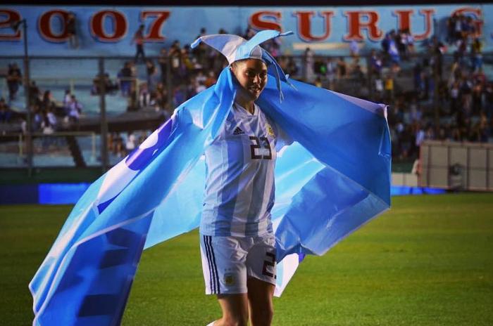 Milagros Menéndez, de clasificar al Mundial a la Libertadores
