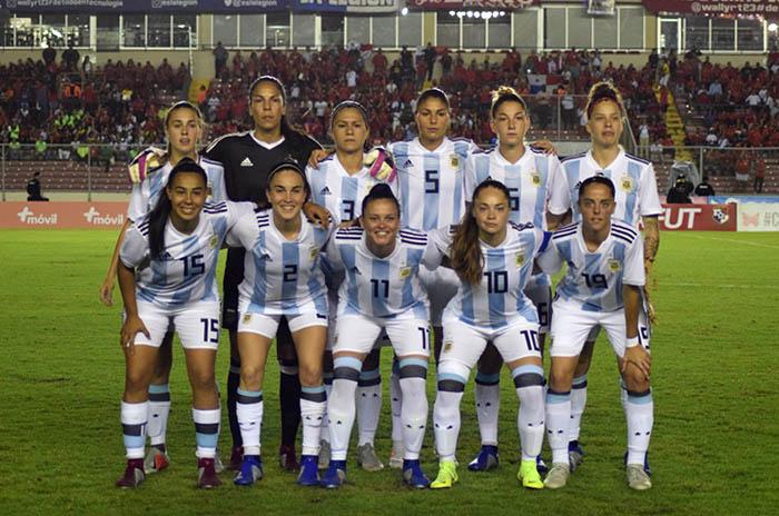 Argentina volvió a clasificarse a un Mundial de fútbol femenino