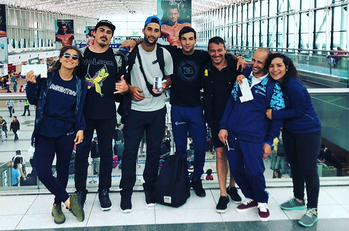 Skate: el seleccionado argentino rumbo al Panamericano de Lima