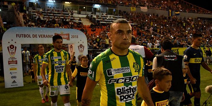 Fernando Telechea dejó de ser jugador de Aldosivi