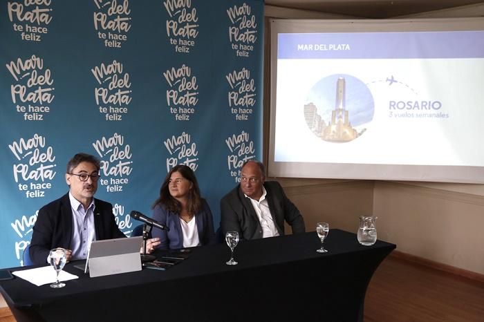 Aerolíneas Argentinas lanzó nueva red de vuelos para Mar del Plata