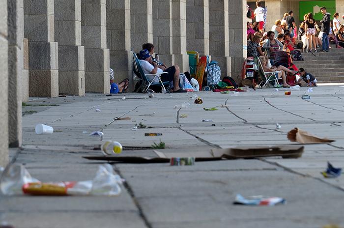 """Cuidado de espacios públicos: """"Está todo retrasado y paralizado"""""""