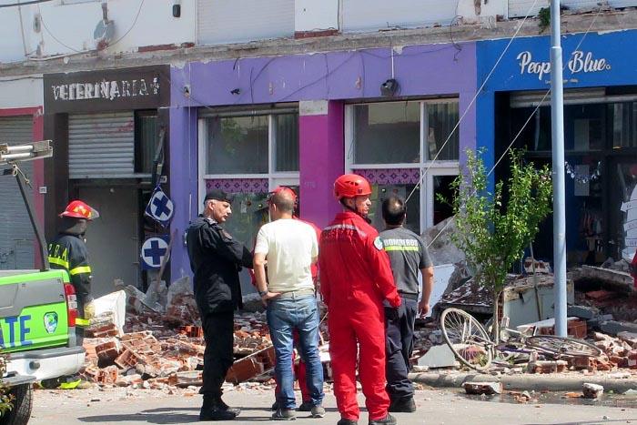 Punta Mogotes: quitan escombros y descartan que haya más víctimas