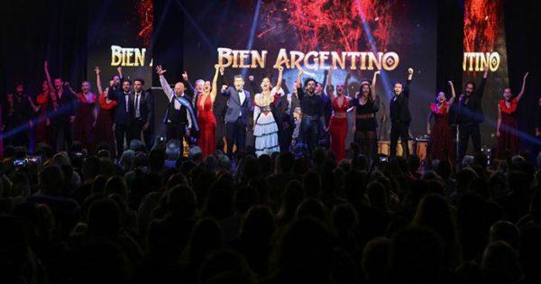 """Un debut a puro aplauso para """"Bien Argentino"""""""