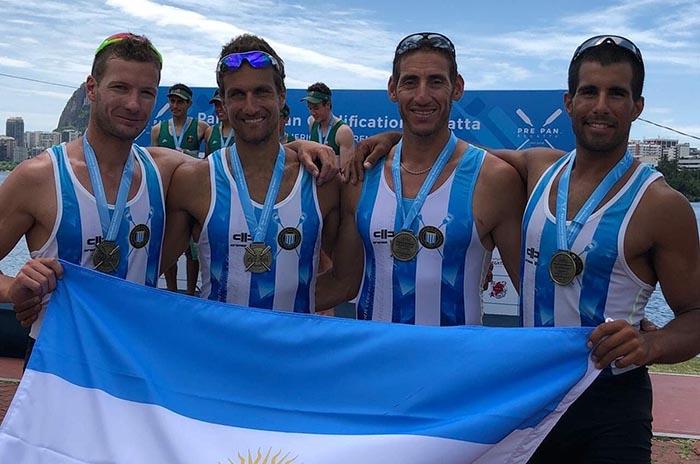 Los hermanos Rosso e Ignacio Pezzente clasificaron a Lima 2019