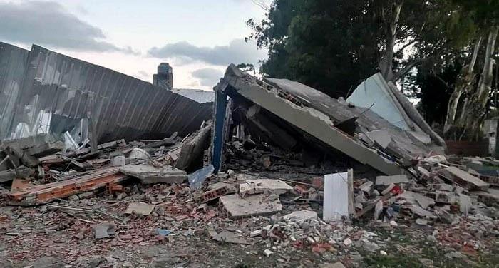 Fuerte explosión destruyó su casa: perdieron todo y necesitan ayuda