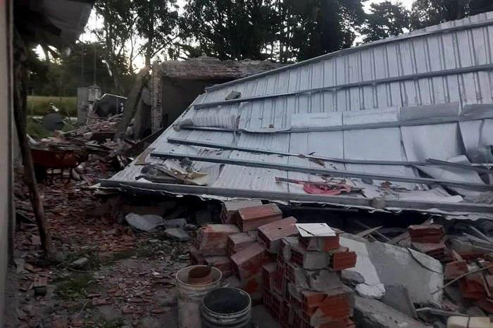 Casa Parque Camet explosion garrafa ayuda (2)