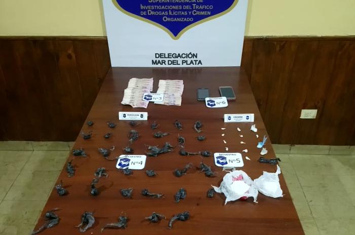 La Herradura: allanamientos, secuestro de drogas, detenciones y demolición
