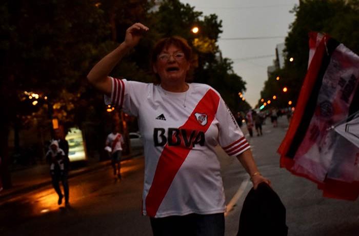FESTEJOS RIVER CAMPEON COPA LIBERTADORES  (7)
