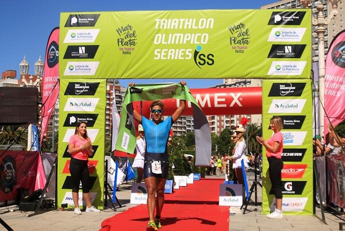 Buenahora y Morandini ganaron el Triatlón Olímpico