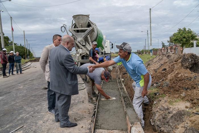 Obras en Nuevo Golf: recorrida oficial y críticas de los vecinos
