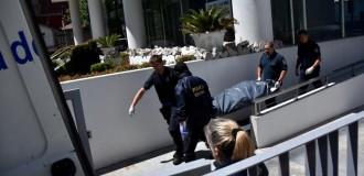 Homicidio y suicidio en un edificio de Libertad y Salta
