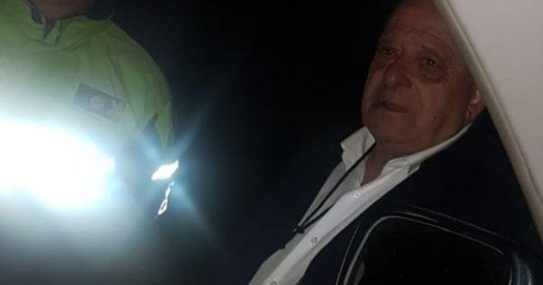Arroyo salió a hacer controles de alcoholemia en medio del paro