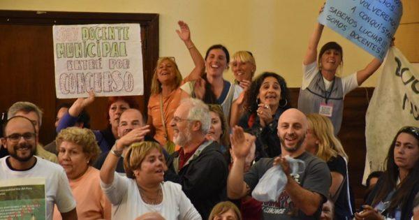Duro revés para Arroyo: el HCD restituyó la bonificación docente