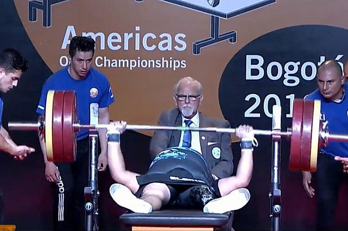 Pesas: Lucas Gareca también se metió en los Parapanamericanos