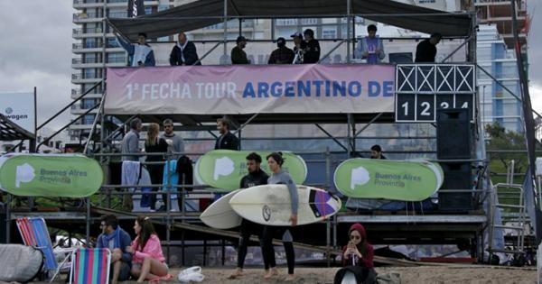 Anunciaron una posible fecha para el regreso del Circuito Argentino de Surf 2020