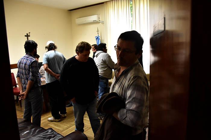 Acampe: no hubo acuerdo con el gobierno y sigue el reclamo