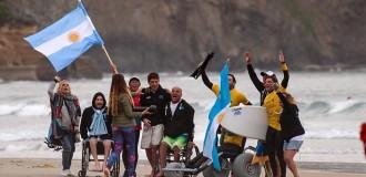 Surf adaptado: Argentina, otra vez entre los 15 mejores