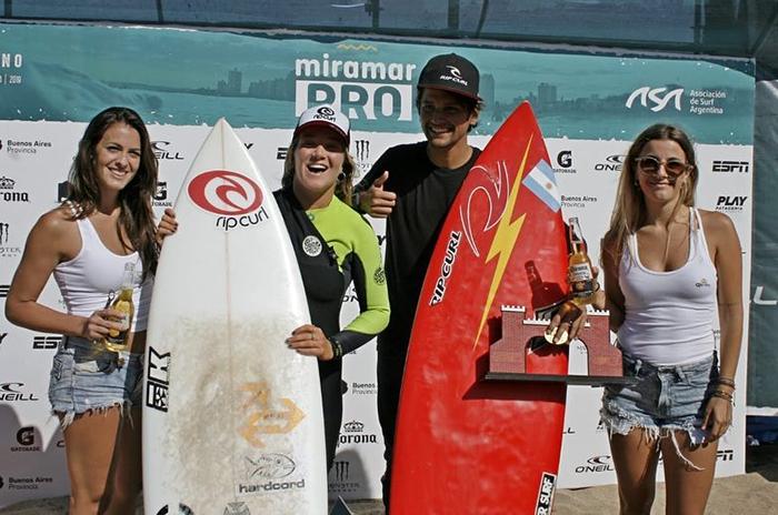 Surf: Facundo Arreyes y Cosoleto, campeones de la segunda fecha