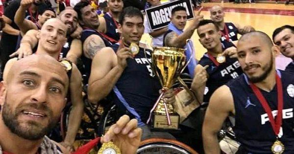 Argentina, campeón sudamericano de básquet adaptado