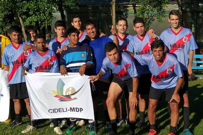 Cideli campeón nacional de fútbol 7