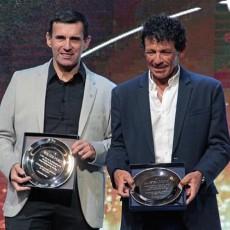 Juan Curuchet y Walter Pérez, reconocidos a 10 años de la gloria