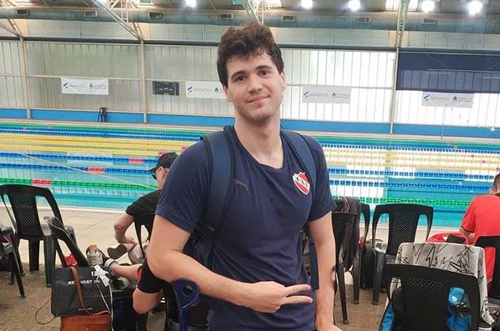 Matías de Andrade obtuvo dos medallas en el Open de Paranatación