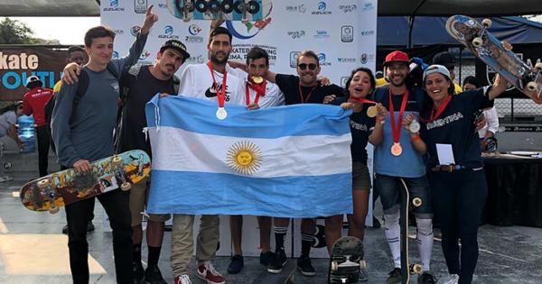 Seis medallas argentinas en el 2° Torneo Panamericano de Skate