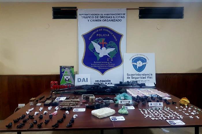 Allanamientos droga detenidos (2)