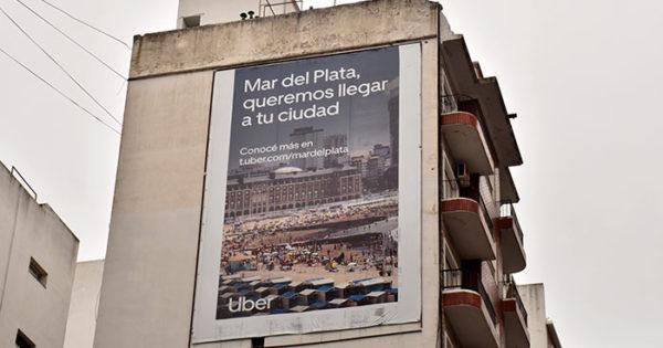 """La publicidad de Uber, colocada """"de manera clandestina"""""""