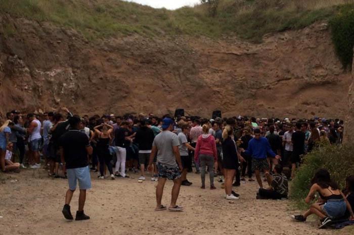 """Fiesta en Acantilados: críticas a la """"falta de gestión"""" municipal"""