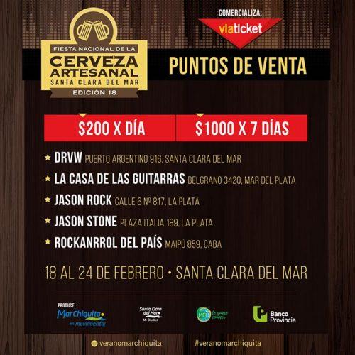 Flyer Fiesta de la Cerveza