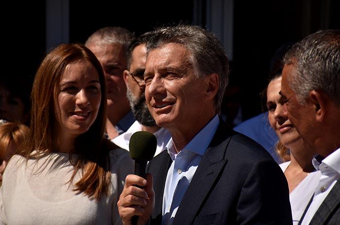 Macri, entre el aeropuerto, el gasoducto y el acto en Quilmes