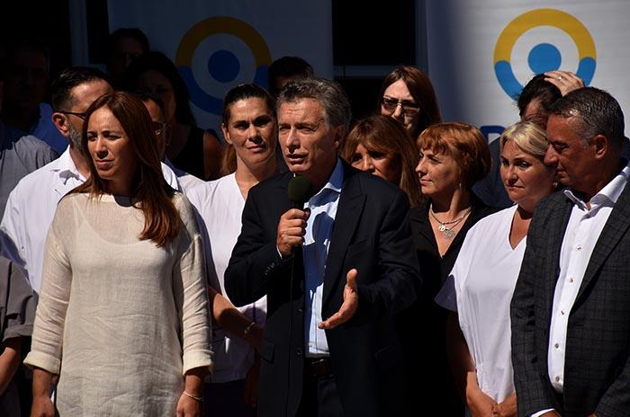 """Macri y Vidal: """"Somos capaces de construir soluciones"""""""