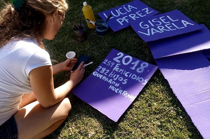Mujeres en lucha se movilizan por primera vez en Santa Clara